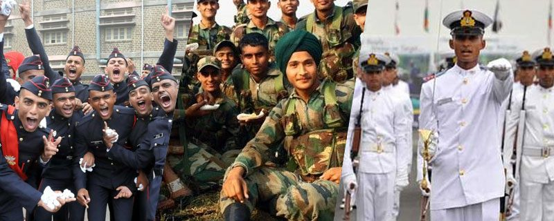 Career @ Indian Armed Forces after 10+2 (Officers Entry)