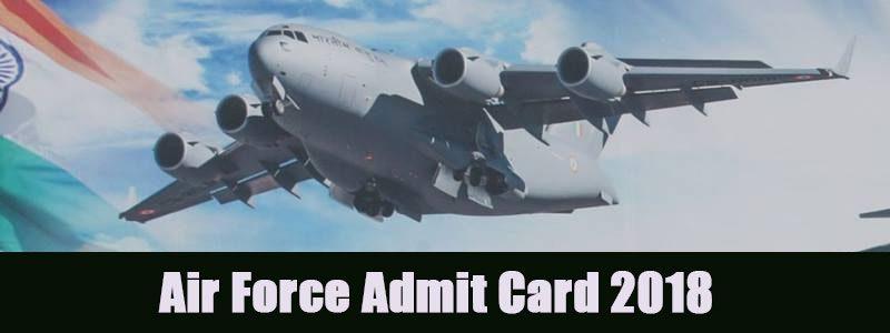 AirForce Admit Card