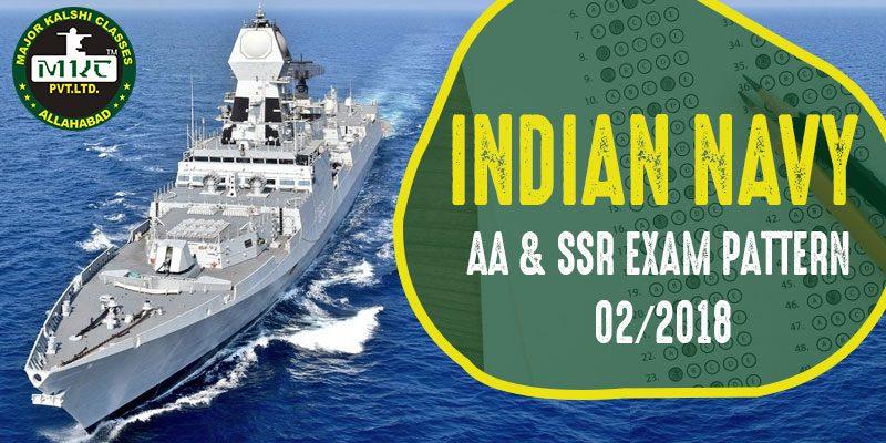 Navy AA SSR exam pattern