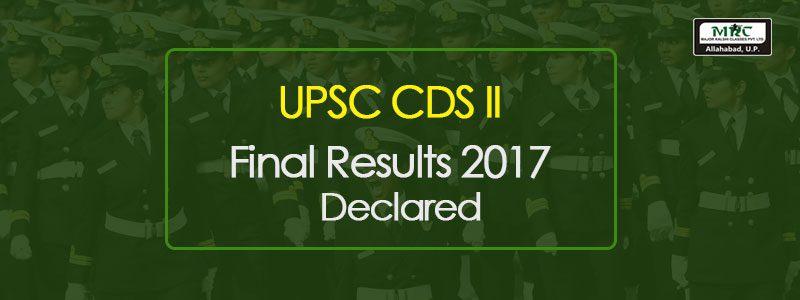 CDS-II 2017 Final Results