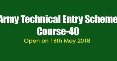 Technical Entry Scheme Course-40