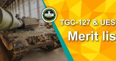 TGC Merit List