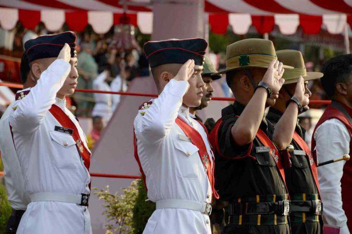 NDA 134th passing out parade