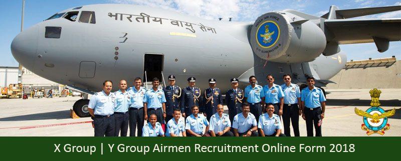 IAF Airmen in Group X & Y Batch 2/2019