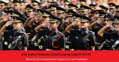 JAG Entry Scheme 22nd Course
