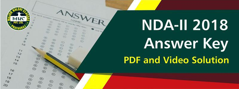 NDA-II 2018 Answer Key