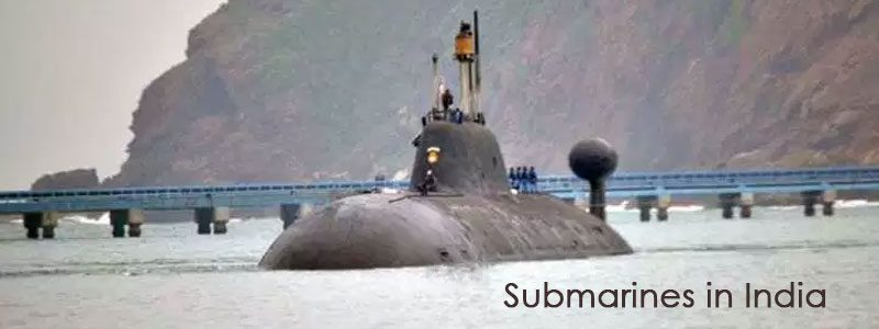 History of Submarines in India