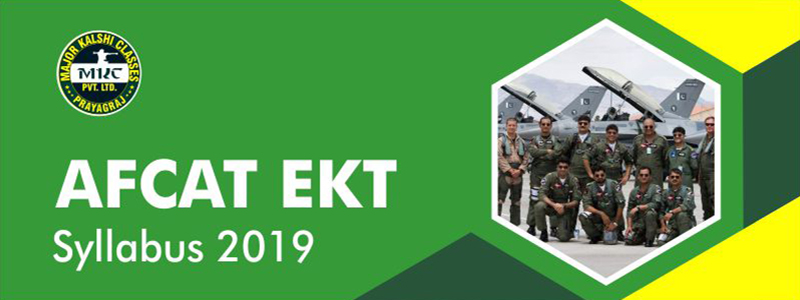 AFCAT Syllabus 2019