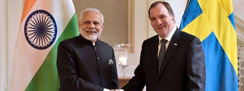 Defense Relations strengthens between Indian and Sweden