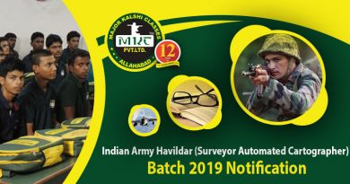 Indian Army Havildar 2019