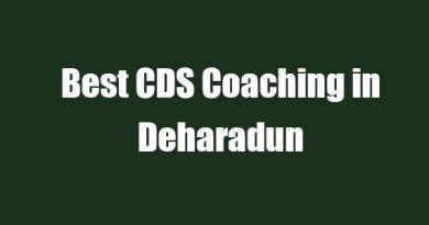 Best CDS Coaching in Deharadun