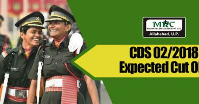 CDS 02/2018 Expected Cut OFF