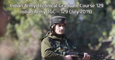 Indian Army Technical Graduate Course 129 Indian Army TGC – 129