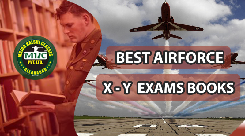 Airforce X and Y Exam Books