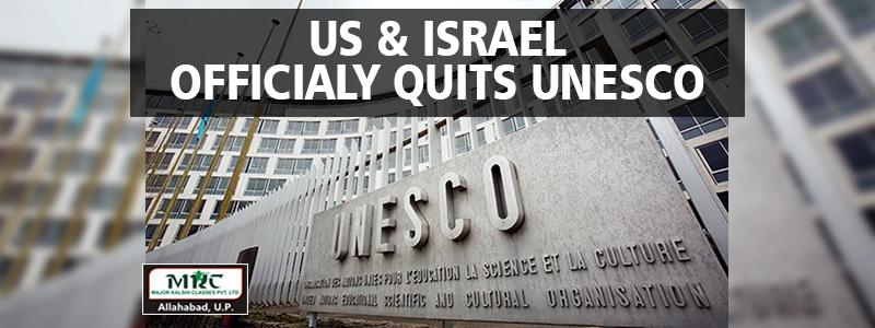 US Israel quits UNESCO