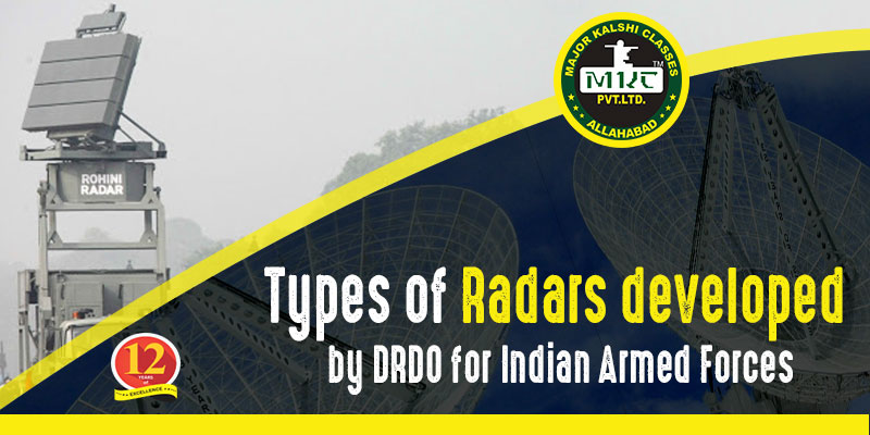 Check Out The Types of Radars by DRDO For Armed Forces | MKC