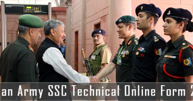 SSC Technical Online Form