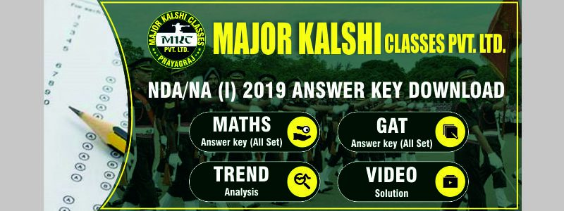 NDA 1 2019 Answer Key