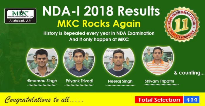 NDA 1 2019 Admit Card