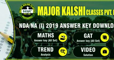 NDA 1st 2019 Answer Key