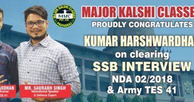 Kumar Harshwardhan Success Story