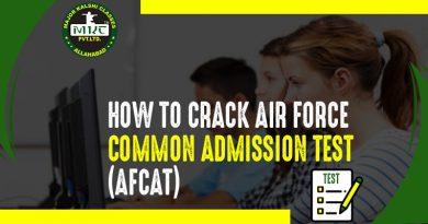 Crack AFCAT Exam
