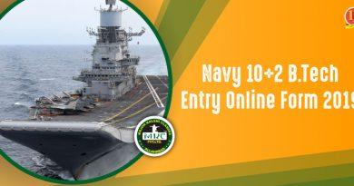 Navy B.Tech Entry
