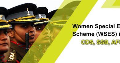Women Special Entry Scheme