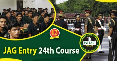 JAG Entry 24th Course