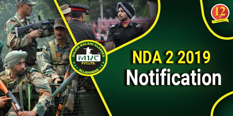 NDA 2 Notification 2019