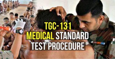 TGC-131 Medical Standard Test Procedure (Technical Graduate Course)
