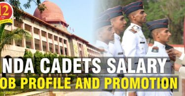 NDA Cadets Salary, Job Profile and Promotions.