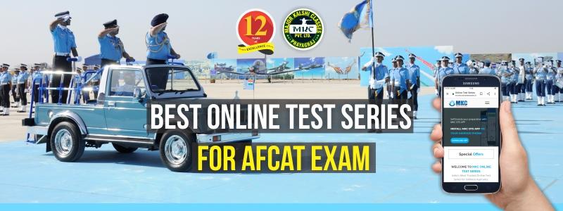 Online Test Series for AFCAT Examination