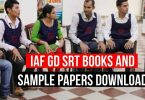 IAF GD SRT Books and Sample Papers Download