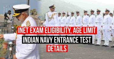 Today we are going to share INET Exam Eligibility, Age Limit, Indian Navy Entrance test details. Here is good news for all Defence lovers. Indian Navy has introduced New way for Joining the service as an officer. Indian Navy named it is INET which is Indian Navy Entrance Test. There are other ways also to join the service but this is completely new. Indian Navy selection has launched this in 2019 and the first exam was held on September 2019. Major Kalshi classes here, going to share with you all about this new opportunity for joining the Indian Navy as an Officer.  We will discuss each in details about INET Eligibility Criteria, INET Age Limits, INET Exam Pattern, INET Physical and INET Medical requirement. INET Exam Eligibility, Age Limit, Indian Navy Entrance test details INET Selection Process:- Indian Navy Entrance Test Selection Process is in three steps- Written Exam SSB interview Medical test INET Eligibility Criteria:- Only graduates are allowed to apply for this Vacancy. Candidate must have done B.E or B.tech in any discipline for any recognized Institute with physics and mathematics at 10+2 level. INET Age Limit:- Candidate age must be between 19 to 24 yrs old as per their class 10th INET Exam Pattern and Syllabus:- The candidate will have to pass each section to be considered for the SSB interview. Candidates would be called for the SSB interview as per their score in the written exams. Merit List will be based on 50% marks in Written and 50% SSB The question paper would be in four sections:- Subjects Questions Marks Duration English 25 25 2 Hr –Reasoning and Numerical Ability 25 25 General Science and Mathematical Aptitude 25 25 General Knowledge 25 25 INET Syllabus:- Section 1 – English- Comprehension, Usage of Words, Sentence completion / Corrections, Punctuations, Grammar, Vocabulary, Antonyms and Synonyms, Parts of Speech, Direct and Indirect Speech, Idioms and Phrases, Active and Passive Voice.etc (Question paper will be designed to test the candidates' understanding of English and workmanlike use of Grammar) Section 2 –Reasoning and Numerical Ability Spatial, Numerical, Reasoning and Associative Ability, Sequences, Spellings, Unscrambling, Coding and Decoding, Missing Numbers / Series Completion, Decimal Fraction, Ratios and Proportion, Average and Volume, Time and Work, Speed and Distance, Market Price, Cash Price, Expenditure Problems, Profit and Loss, Percentage, Factoring (LCM and HCF), Simple Interest and Compound Interest, Mensuration Formulas (Calculation of length, breadth or height of square, rectangle, cube etc) Section 3 – General Science and Mathematical Aptitude Nature of Matter, Universe, Electricity and its Applications, Force and Gravitation, Newton's Laws of Motion, Work, Energy and Power, Heat, Temperature, Light, Current, Magnetism, Metals and Non Metals, Measurements, Sound and Wave Motion, Atomic Structure, Chemistry – Carbon and its Compounds, Periodic Table, Acids, Bases & Salts, Food, Nutrition and Health Physiology and Human Diseases and Basic Computer Science Arithmetic Ability, Number Systems, Algebra, Basic Trigonometry, Geometry, Statistics, Probability and Set Theory. Section 4 – General Knowledge:- History of India, Geography, Climate / Environment, Civics – Constitution of India, Art, Culture, Dance, Heritage, Religion, Freedom Movement, Important National Facts, Economics, Politics, Sports and Championships, Entertainment, Books and Authors, Awards, Defence and Wars, Geographical Neighbours, Countries – Languages, Capitals, Currencies, Common Name, Full Forms, Abbreviations, Eminent Personalities, National – Bird/ Animal/ Monuments/ Flower/ Anthem/ Sport/ Flag/ Emblem etc, Discoveries and Current Affairs. SSB PROCEDURE FOR INET FOR INDIAN NAVY:- The SSB interview procedure would be in two phases Stage-1  and  Stage-2. The candidate who would pass stage-1 only they would be permitted to appear in stage 2. SSB interviews for short-listed candidates will be tentatively scheduled at Bangalore for Pilot & Observer candidates and at Bangalore/ Bhopal/ Visakhapatnam/ Kolkata for other branches/ entries. Shortlisted candidates will be informed about their selection for SSB interview on their e-mail or through SMS STAGE-1  you will be tested in three different manners. OIR (Officers Intelligence Rating) PPT (Picture Perception Test) & DT (Description Test) This test would complete in one day. The candidate would be shortlisted on the basis of the combined performance. That candidate would be shortlisted will stay there for the next 4 days. STAGE-2  this stage is conducted for four days. Where you have to pass Psychology test Group testing Officers tasks, Interview and conference. MEDICAL TEST of INET:- Your selection is not done yet. After passing the written exam and SSB interview candidates will have to go through the medical test. Which would be done anywhere in Military hospital. It is not so easy. Your complete body check-ups would be done. There is no relaxation is medical on any ground. Height should not be less than 157cm for male and 152 cm for female. Relaxation in Height and Weight. Relaxations in height are permissible to candidates holding the domicile of specific regions. Your chest should be well developed. Chest expansion must be at least 5cm. Candidate should be free from wax (ears), DNS, Hydrocele, defective colour vision, Lasik surgery, over/ underweight, piles, gynecomastia etc. You should be able to read 6/6 in distant vision charts. Minimum 14 dental points with sound teeth. INET PHYSICAL STANDARD:- Running 2.5km in 15 minutes. Push-ups- 15 Sit-ups- 25 Chin-ups- 6 Rope climbing- 3-4 meters You will be given free stay and food for your SSB and medicals. Details about this INET of Indian Navy:- Through this entry, you can join the Indian Navy as SSC (short service commission) or PC ( Permanent Commission) After the selection, you can opt for any branch. If your eligibility criteria meet. You can opt for the executive branch, ATC, Navy Aviation etc. HOW TO PREPARE FOR INET:- Join Major Kalshi Classes it is one of the finest academies for defence in India. and you can use our study material which is available after clicking on the below link. The exam is easy but the competition is tough. So prepare as good as you can. You can Avail our Service:- For purchasing any books for defence examination- Click Here For Joining Test Series- Click Here This is all about NDA 2 2019 Answer Key with NDA Question Paper Solution. If you guys want to serve for the nation and wanted to clear Defence examination, can join Major Kalshi Classes, Here we have experienced faculty for all the subjects. For more inquiry, you can call us at 9696220022 and 9696330033 or go to our official website www.majorkalshiclasses.com. Thank you. All the Best!