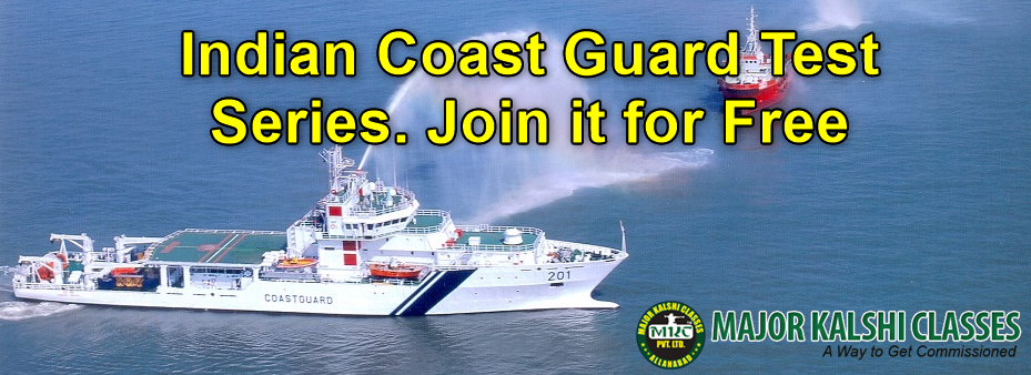 Indian Coast Guard Test Series. Join it for Free