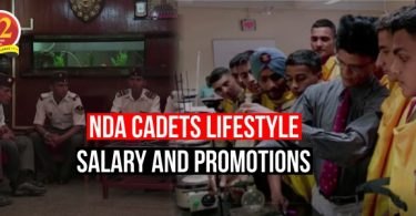 NDA Cadets lifestyle, Salary During the Training.