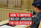 How to Improve English for SSB Interview?