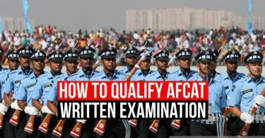 How to qualify AFCAT written exam?
