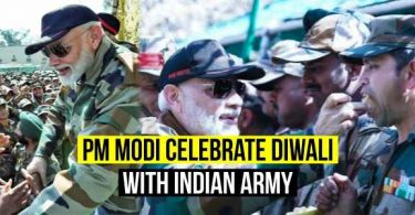PM Modi Celebrate Diwali With Indian Army Here are some Photos