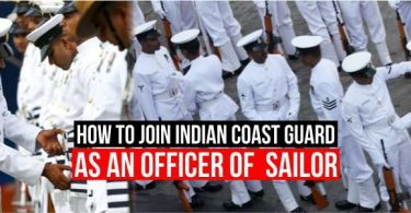 How to Join Indian Coast Guard as An Officer or Sailor, Complete Detail