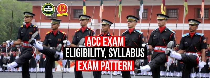 ACC Entry Eligibility Criteria and Selection Process.