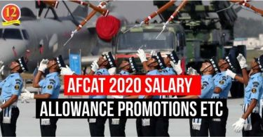 AFCAT 2020 Salary, Allowance and Promotion