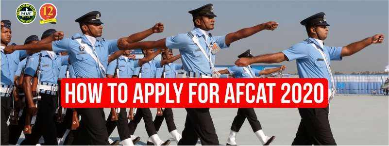 How to Apply for AFCAT 1/2020