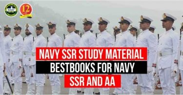 Navy SSR/AA Study Materials | Best Books for Navy SSR and AA |