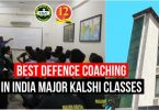Best Defence Coaching In India-Major Kalshi Classes