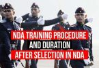 NDA Training Procedure and Duration after Selection in NDA