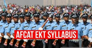 AFCAT EKT Syllabus, Engineering Knowledge Test Syllabus