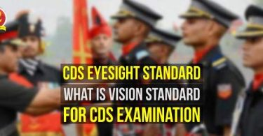 CDS Eyesight Standard, What is Vision Standard for the CDS?