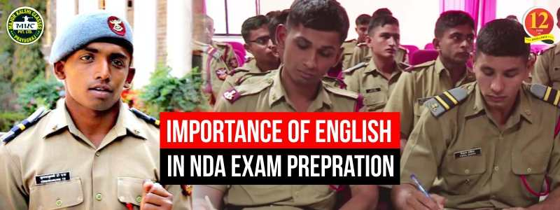 Importance of English for NDA Exam Preparation.